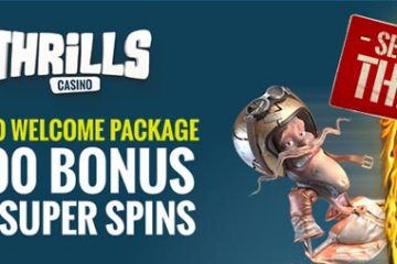 casino welcome bonus thrills