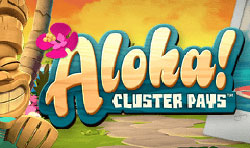 aloha cluster pays netent