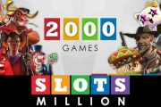 SlotsMillion Casino passes 2,000 games