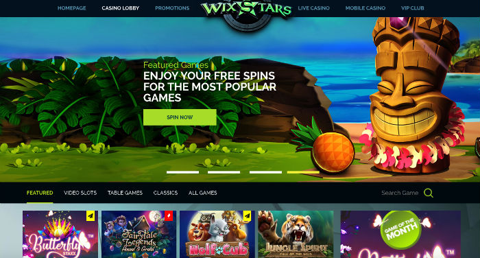 wixstars casino review