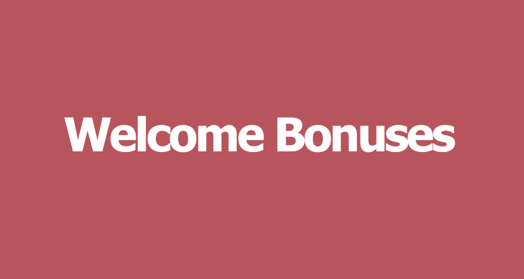 casino welcome bonuses